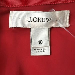 J. Crew Dresses - J. Crew Red Cap Sleeve Dress sz10 EUC